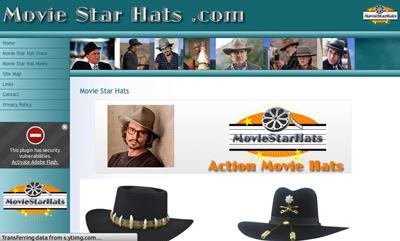 Movie Star Hats
